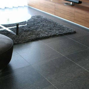 Silver Grey Leather Finish woonkamer
