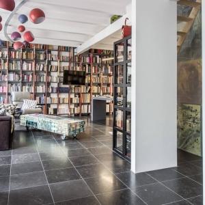 Belgisch Hardsteen Blauw Gezoet boekenkast