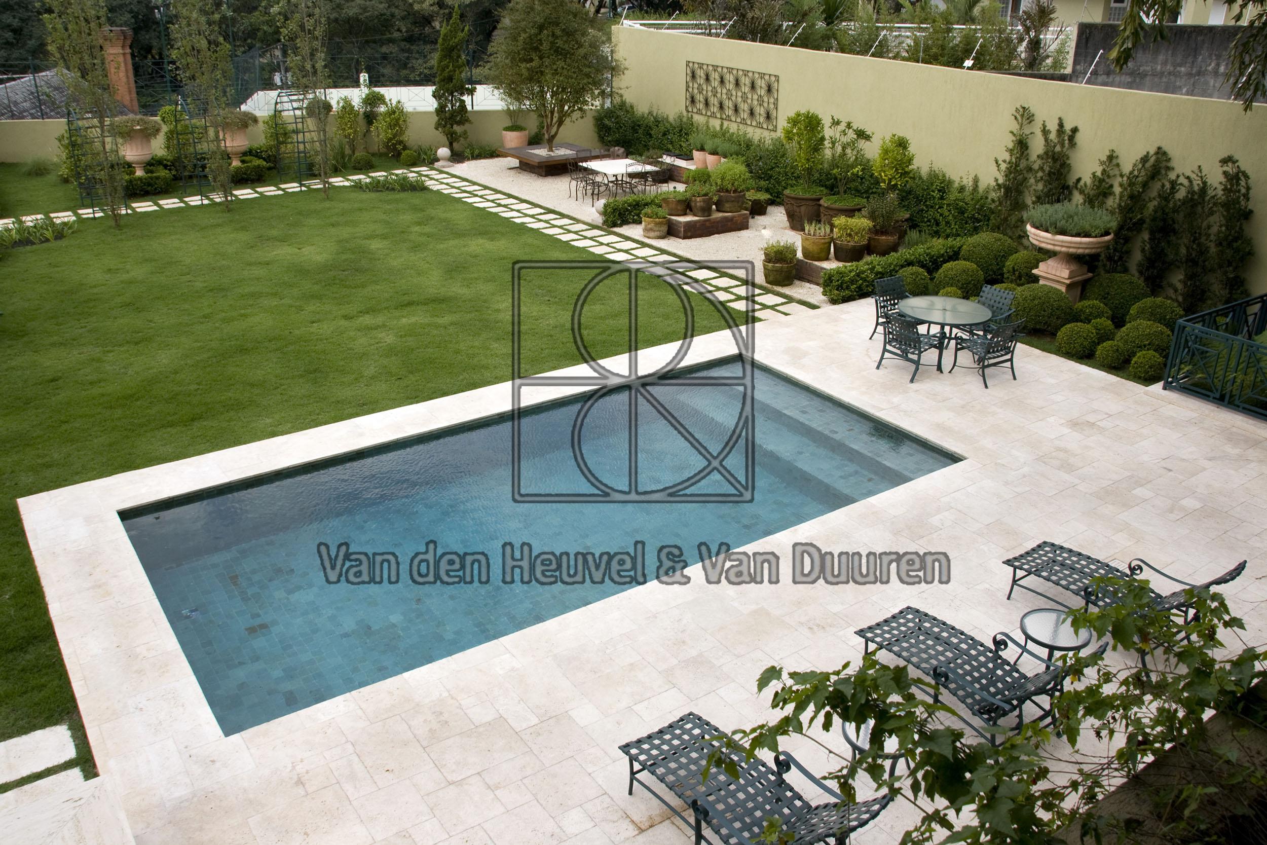 Classic Travertin zwembad