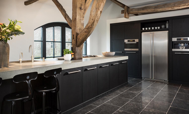 keuken tegels natuursteen : Belgisch Hardsteen Abdij Verzoet Van Den Heuvel Van Duuren