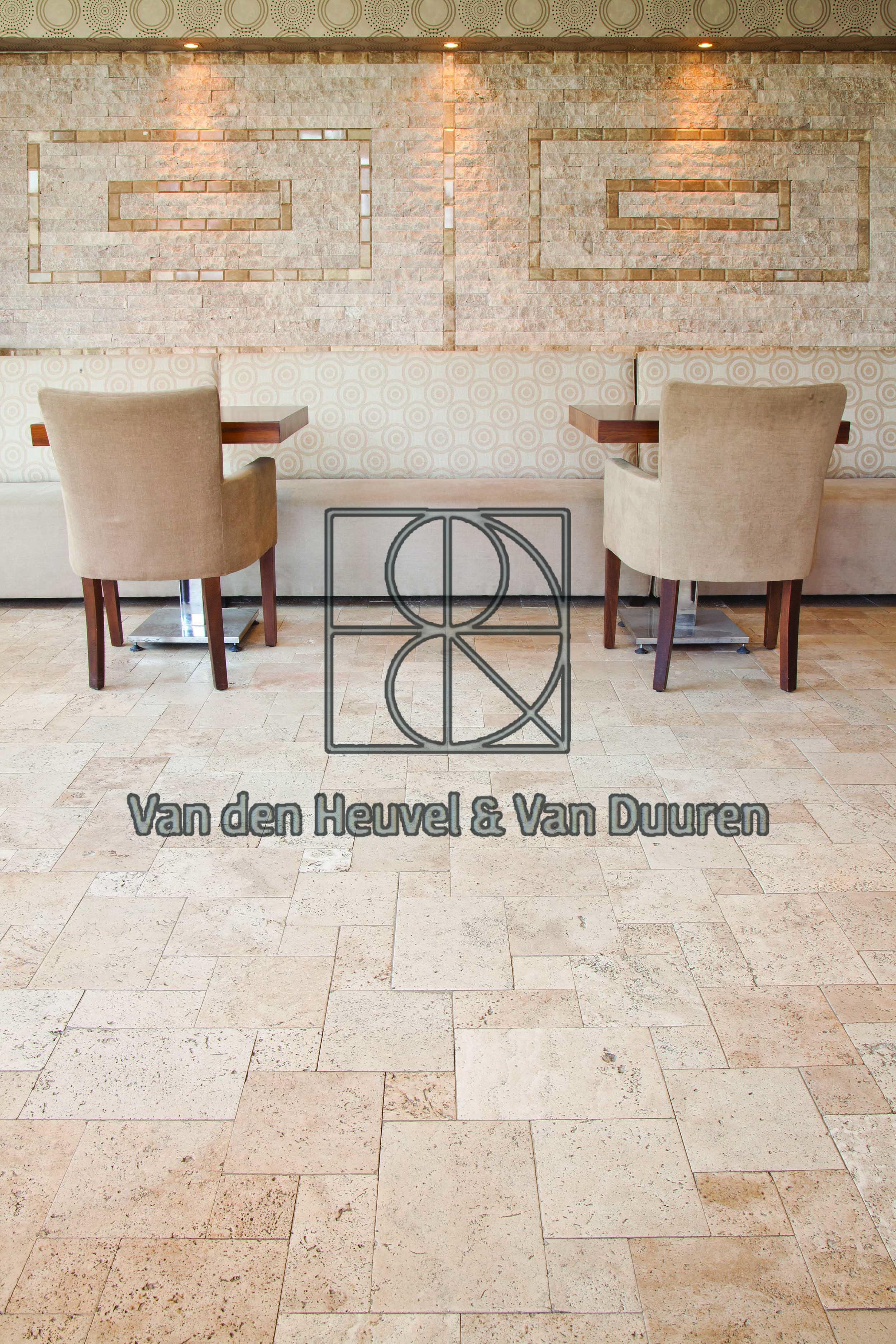 Classic Travertin Chairs