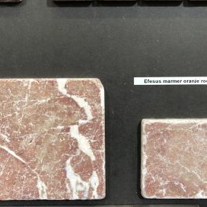 Efesus Stone Marmer Oranje/Rood tegels
