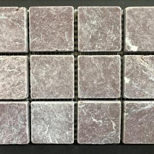 Efesus Stone Marmer Bordeaux Mozaiek