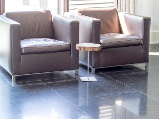 Belgisch Hardsteen Donker Gezoet vloer