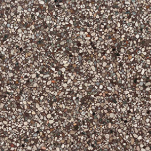 Terrazzo Stone Bruin Close up