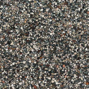 Terrazzo Stone Antraciet  Close up