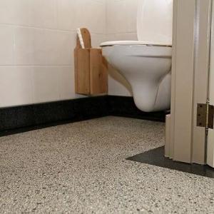 Terrazzo Stone Wit Toilet