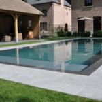 Belgisch Hardsteen Tegels Manueel verouderd, lichte schuring Terrastegels