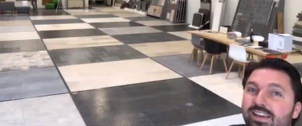 Natuursteen showroom in Breda