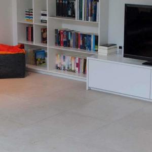 Pristina Poco Vecchio natuursteen met TV meubel