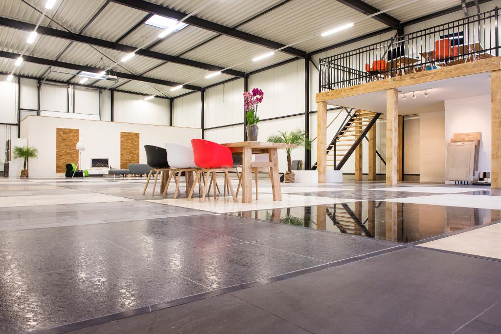 Natuursteen showroom van den Heuvel & van Duuren