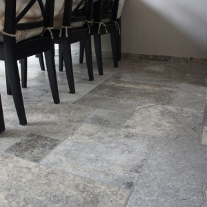 """Apulia Grigio (Travertin Silver) """"Anticato"""""""