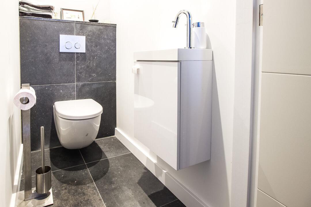 Belgisch Hardsteen Blauw Gezoet Toilet