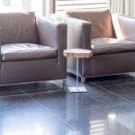 Belgisch Hardsteen Tegels Donker Gezoet 80x80x1,5 cm