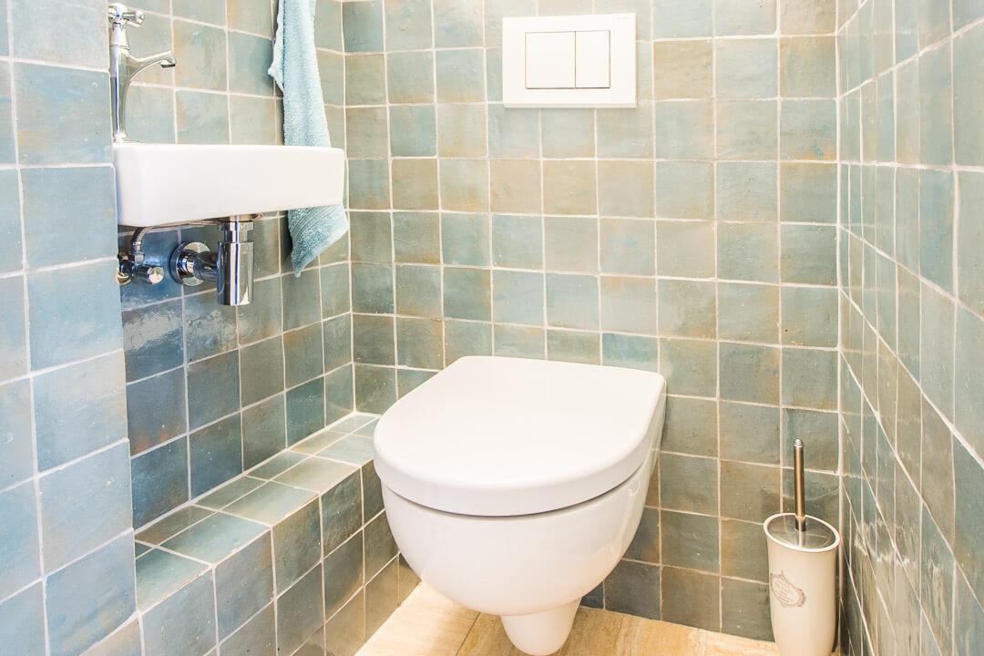 Zelliges Toilet