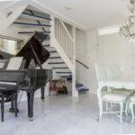 Bianco Carrara voorbeeld vloer marmer