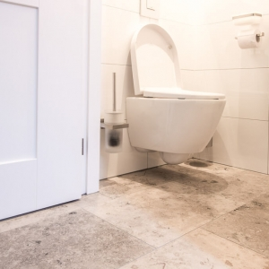 Jura Grau Gezoet Toilet