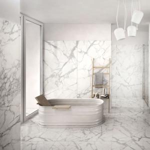 Bianco Carrara Keramiek in badkamer