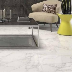 Bianco Carrara Keramiek vloertegels