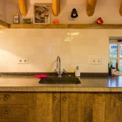 Friese Witjes Lichte Mix boven de keuken