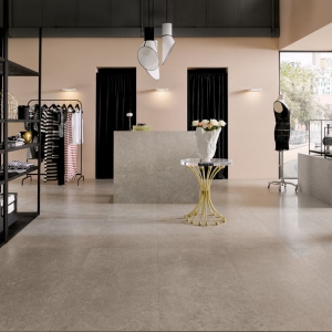 Secret Stone shadow Grey in een winkel