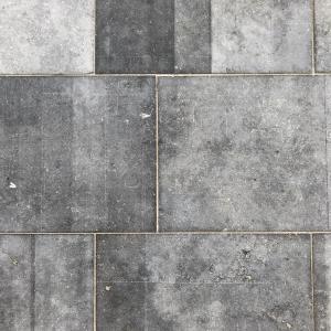 Belgisch Hardsteen Raamzaag Gezaagd met lichtgrijze voeg en contrasten