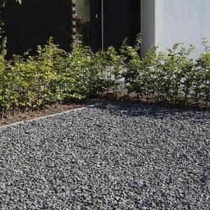Basalt Split in tuin