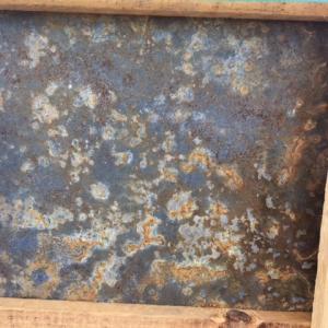 Multi Colour Oxyde Leisteen in houten krat