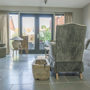 Cottage Stone Grey in de woonkamer