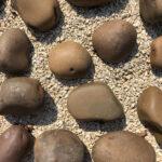 Beach Pebbles Brown - Yellow