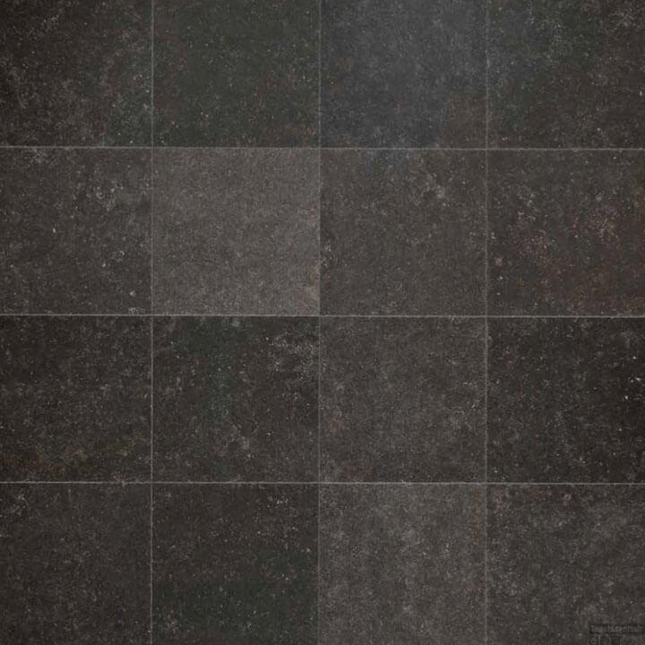 Getrommelde Keramische Vloertegels.Belgisch Hardsteen Look Getrommeld Van Den Heuvel Van Duuren