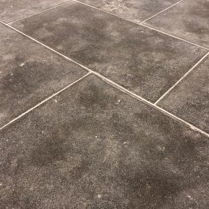 Marokkaanse Kalksteen Gezandstraald in banenverband