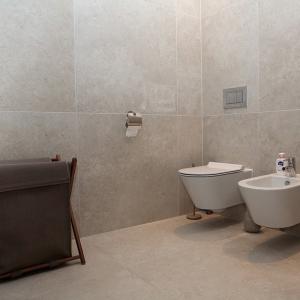 Secret Stone Mystery White toilet.