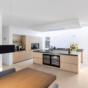 Chambolino in luxe keuken