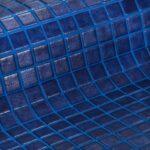 25mm donkerblauw glasmozaiek met antislip laag voor uw zwembad