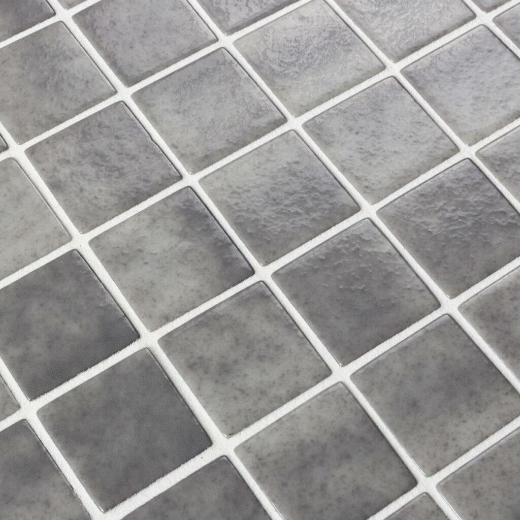 glasmozaiek ezarri safe steps collection antislip donkergrijs 5060-a 5 cm 50 mm