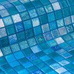 glasmozaiek ezarri topping collection geprint blauwe druppels drops productfoto inspiratie