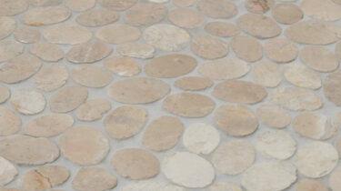 Marmer-Mozaiiek_Oval-Light-Brown_30x30cm_1920x1080_HD