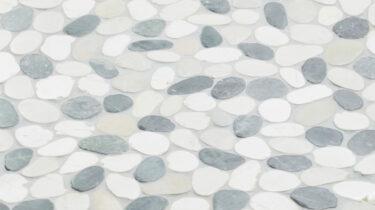 Marmer-Mozaiek_Pebble-Mix-Black-Cream+Brown_30x30cm_1920x1080_HD